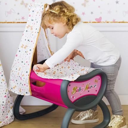 Đồ chơi mô phỏng giường búp bê lớn cho bé gái .