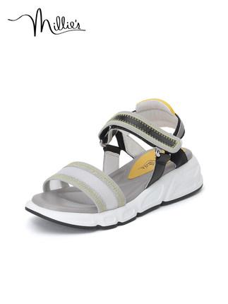 Millie's giày bánh mì / giày Platform / Miao Li 2020 hè mới giày thể thao thông thường đế dày đế dà