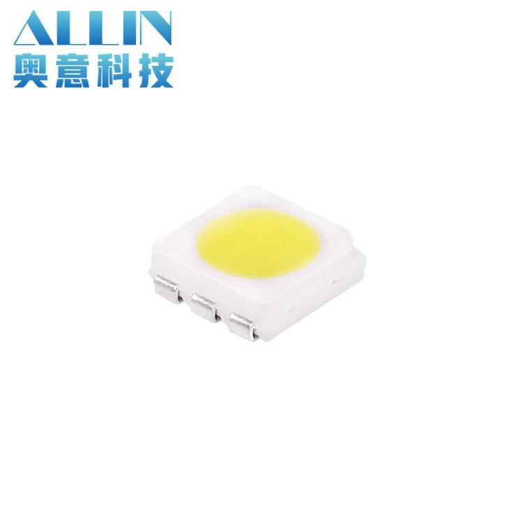 AOYI LED dán Siêu sáng SMD 5050 hạt đèn trắng hạt 5050 ánh sáng trắng 22-24lm Đèn LED hạt 5050 hạt đ