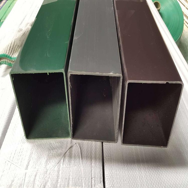 SILIYUAN Vật liệu dị dạng Nhà sản xuất sản xuất ống nhựa PVC vuông, ống cứng bằng nhựa, cấu hình tùy