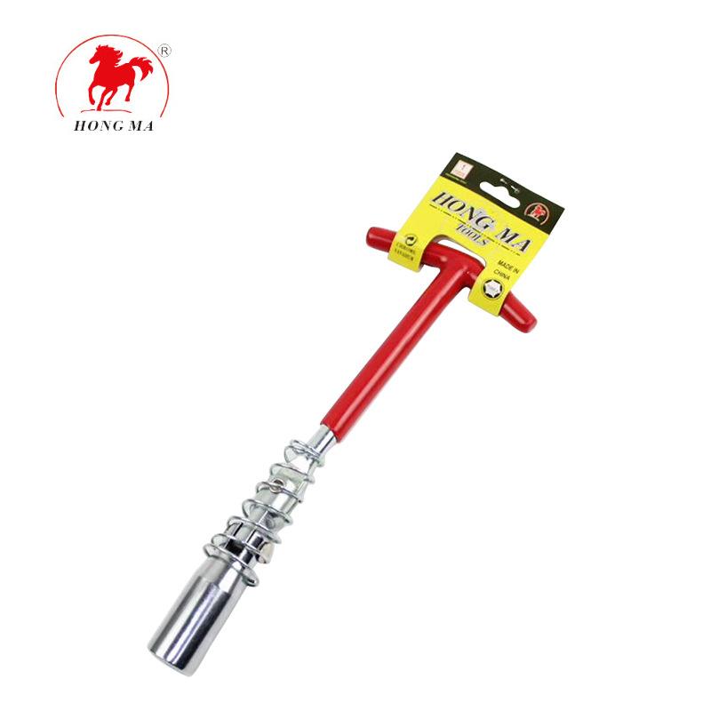 HONGMA Thị trường công cụ Nhà máy bán buôn bảo trì công cụ thủ công phổ quát bugi ổ cắm cờ lê xuất k