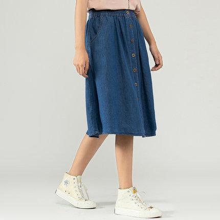 Jeanswest váy Zhenweisi Women 2020 Summer Mới 5A Váy cotton thoải mái