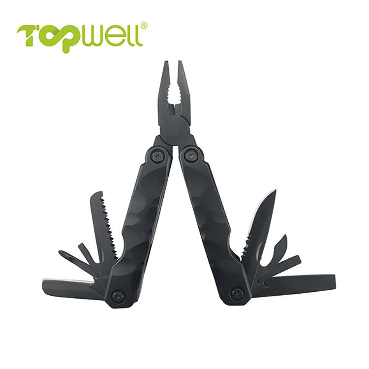 TOPWELL Bộ kềm dao đa năng Mới đa chức năng cắm trại ngoài trời kết hợp đa chức năng gấp dao kìm sửa