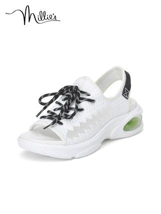 Millie's giày bánh mì / giày Platform / Miao Li 2020 trung tâm mua sắm mùa hè cùng một đôi giày thể