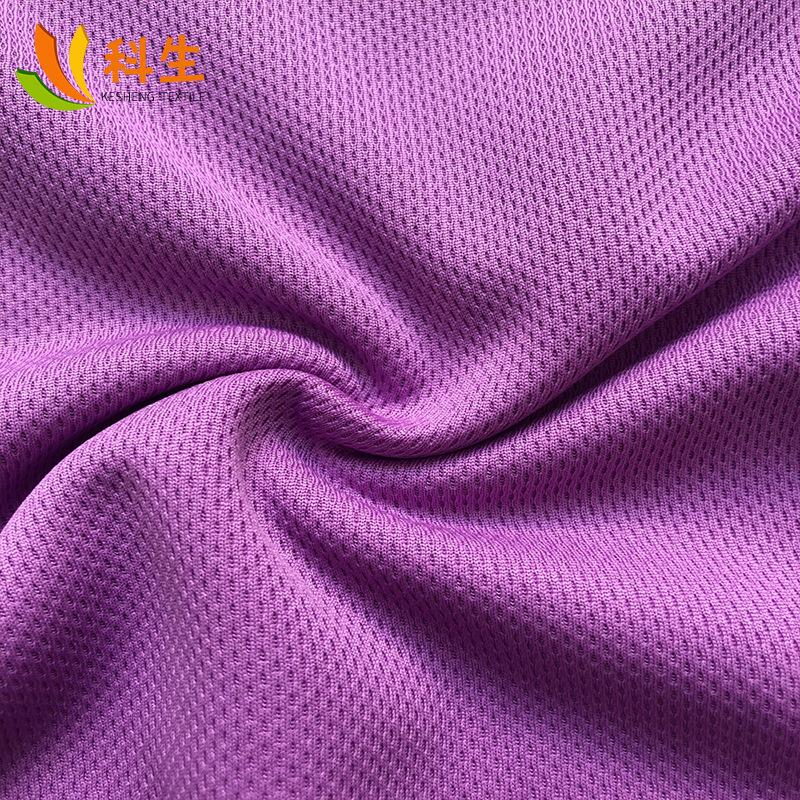 Kesheng Vải lưới mắt chim Kesheng có sẵn từ kho cho thể thao và ẩm ướt thấm hút và vải dệt kim nhanh