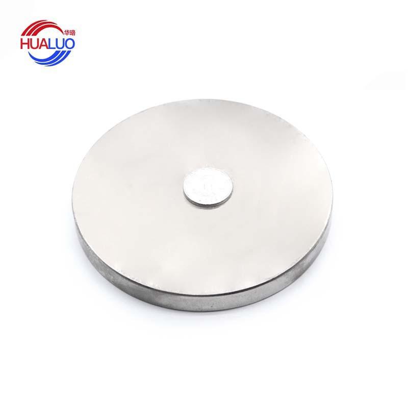 Sắt từ Nam châm đĩa lớn NdFeB đặc điểm kỹ thuật lớn điểm từ mạnh D100 * 10 mm cung cấp bán buôn nam
