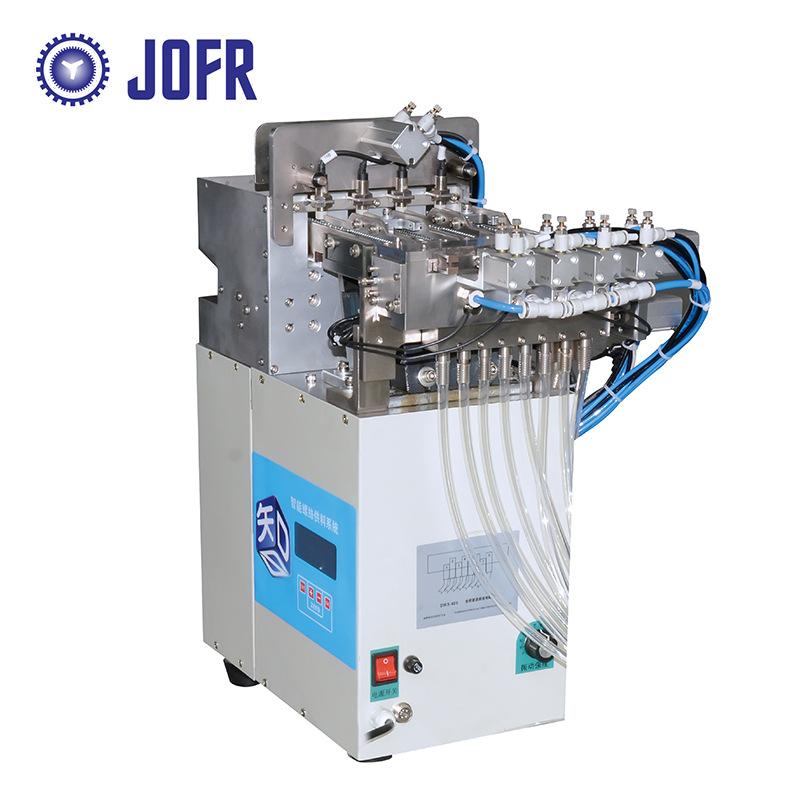 JOFR Linh kiện sắt thép Bộ cấp liệu vít đa đường JOFR, bốn trong số tám bộ cấp liệu vít, ít tiếng ồn