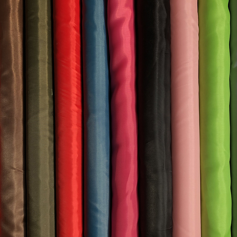 FENGLEI Vật liệu chức năng Polyester taffeta mùa xuân dệt vải chức năng Vải polyester chải da đào vả