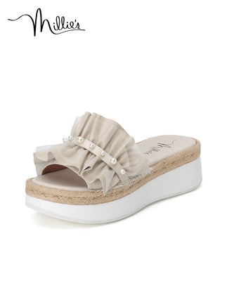 Millie's giày bánh mì / giày Platform Millie / Miao Li 2020 mùa hè mới theo phong cách cổ tích Bánh