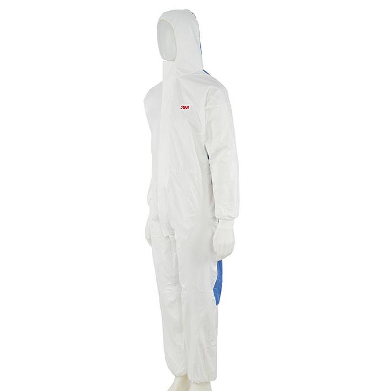 Quần áo bảo vệ mảnh 3D. Có mũ, chống bụi, sơn xịt, chống tóe nước.