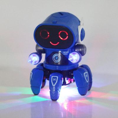LINRUI Rôbôt  / Người máy Sản phẩm mới xuyên biên giới nhảy múa điện sáu móng cá 6 robot nhạc nhẹ ch