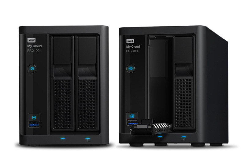 WD / Western data mobile hard disk my cloud pr2100 network cloud storage hard disk desktop NAS array