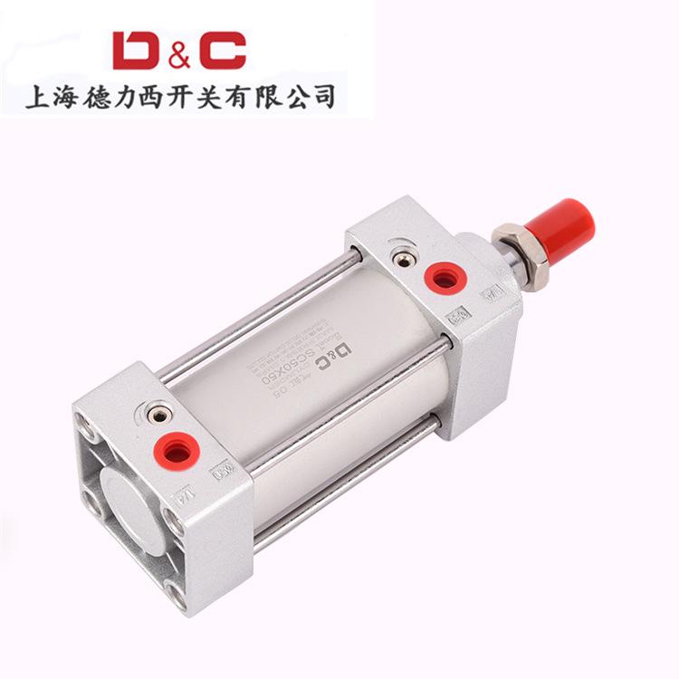 D&C Ống xilanh Xy lanh tiêu chuẩn SC SC63 * 25-50-75-100-125-150-175-200-250X300 * 500 có từ tính