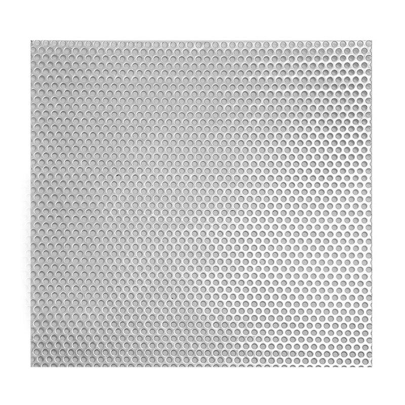 HENGAN Lưới kim loại Nhà sản xuất lưới đục lỗ cung cấp tấm đục lỗ trong kho, thép không gỉ tròn lỗ k