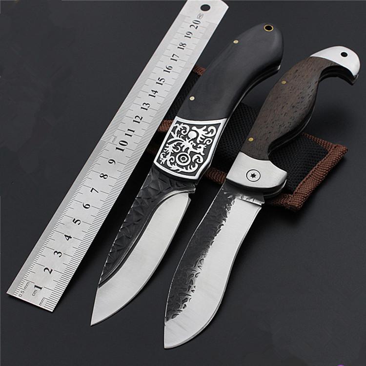 DL Công cụ dao Dao di động ngoài trời độ cứng cao săn dao hoang dã sống sót chiến thuật gấp dao đa n