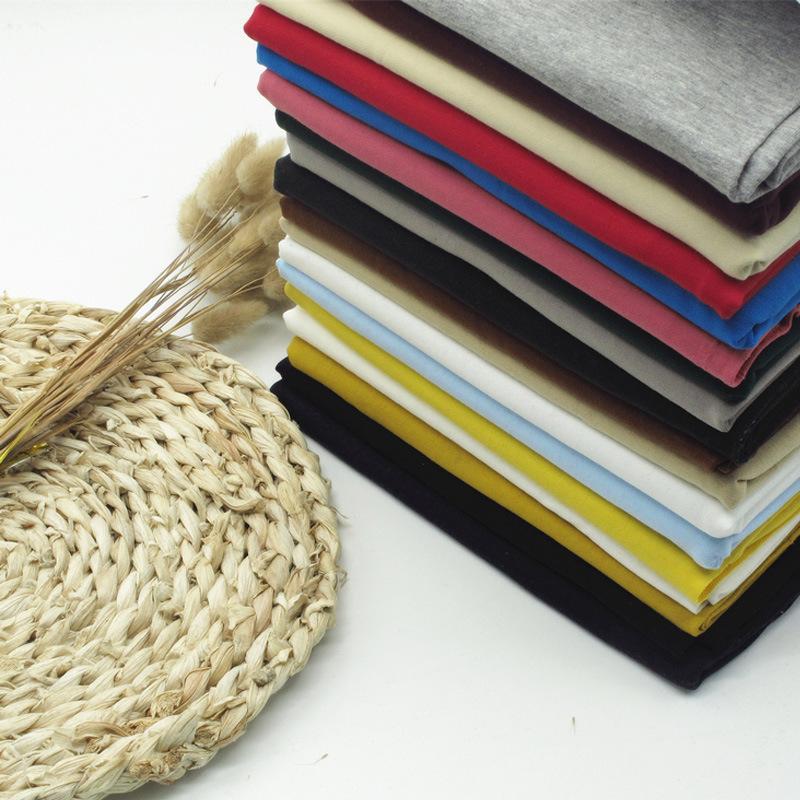 HENGCHEN Vải dệt kim Nhà máy bán hàng trực tiếp vải cotton dệt kim 32S nhỏ, vải cotton thời trang te