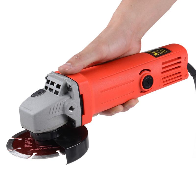 Dụng cụ bằng điện Nhà máy bán hàng trực tiếp Đa chức năng máy mài góc hộ gia đình máy đánh bóng Máy
