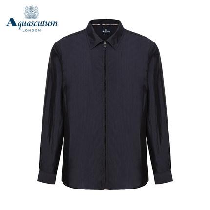 Aquascutum áo thun / Yage Shidan nam mùa xuân và mùa hè mới dệt thường xuyên áo khoác nhẹ