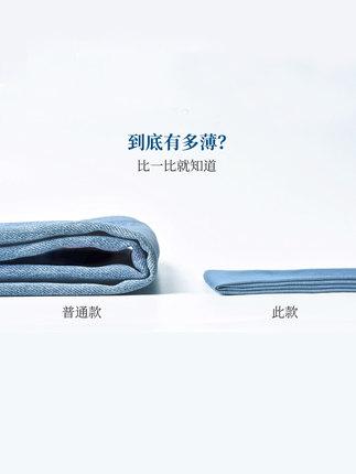 Yiyang quần Jean  chín điểm Quần jean Tencel nữ 2020 hè mới phần mỏng băng lụa rộng tám điểm quần ha