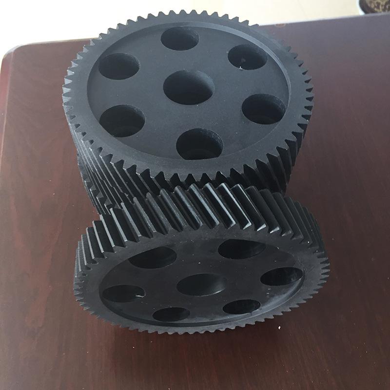 SD Bánh răng Thiết bị nylon chống mài mòn Thiết bị nylon dầu xanh MC901 nhà máy chế biến thiết bị ny
