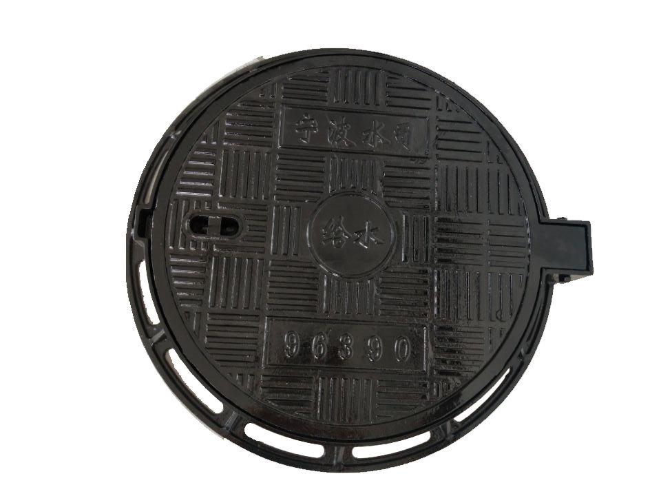 LUZHONGBAO Nắp cống Nắp hố ga bằng sắt dễ uốn Nhà sản xuất cung cấp nắp hố ga tròn φ700X800 nắp hố g