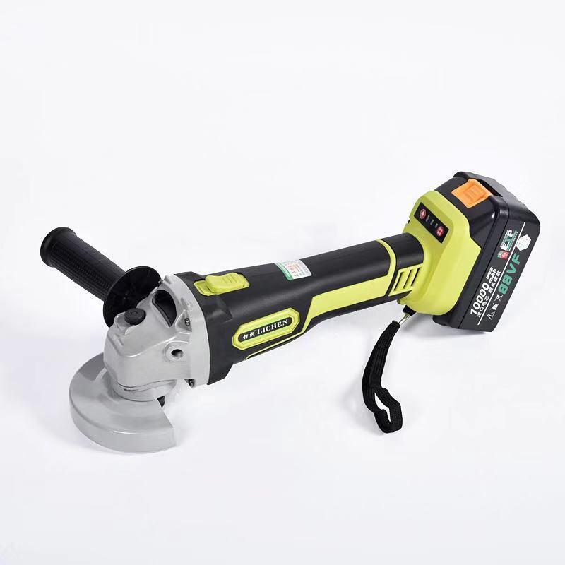 LICHENG Dụng cụ bằng điện Tiancheng pin lithium không chổi than góc máy mài máy cắt máy mài có thể s