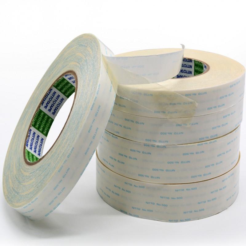 Nitto Keo dán tổng hợp Chất kết dính hai mặt Nitto 500 NITTO500 được nạp collagen hai mặt chính hãng