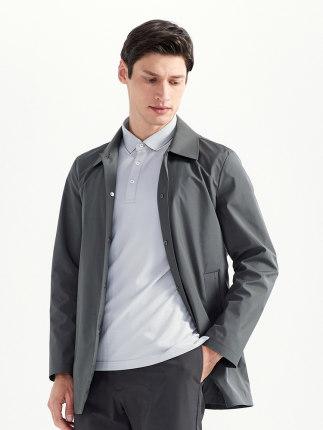 Seven7 Áo khoác nam thương hiệu Qi 2020 mùa xuân áo khoác mới áo khoác nam xu hướng áo khoác mỏng ph