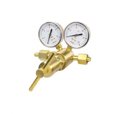 GENTEC Đồng hồ đo áp suất / j Jie Rui 591 loạt giảm áp cấu trúc piston, hydro, oxy