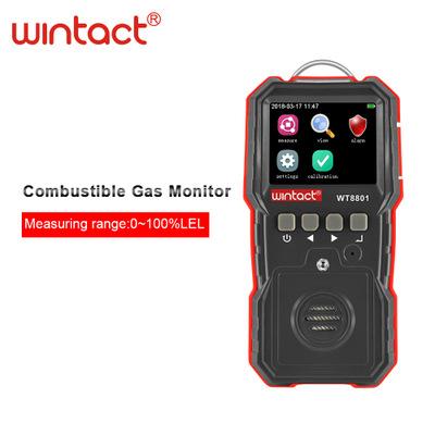 WINTACT Thiết bị dò khí gây cháy nổ Hướng dẫn giám sát khí dễ cháy WT8801