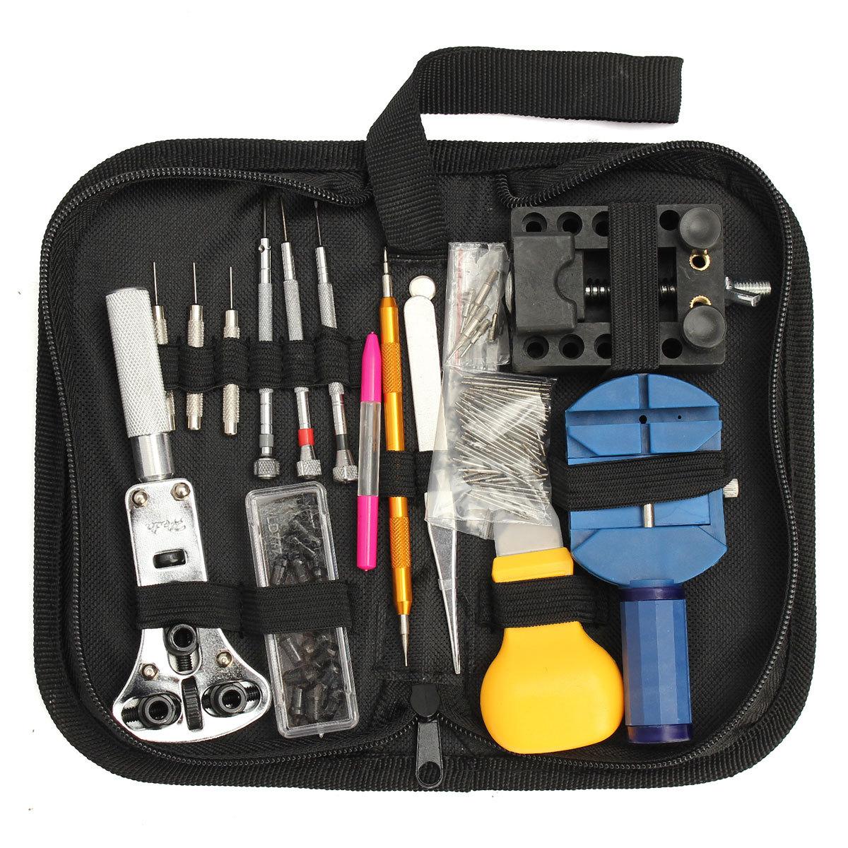 Dụng cụ tổng hợp Bán nóng xuyên biên giới 144 công cụ sửa chữa đồng hồ đặt công cụ sửa chữa đồng hồ
