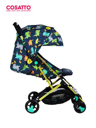 Cosatto Xe đẩy trẻ em Cosatto có thể ngồi ngả siêu nhẹ xe đẩy trẻ sơ sinh nhỏ gọn ô trẻ em ô tô