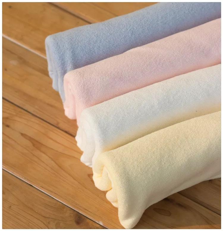 LIJUN Vải khăn lông Sợi ngang dệt kim cotton terry vải may áo choàng tắm phụ nữ áo khoác vải cotton