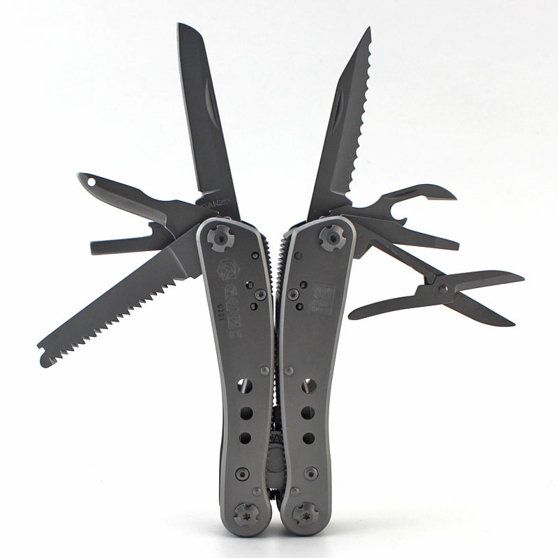 GANZO Bộ kềm dao đa năng Kìm đa năng đa năng kìm đa năng bằng thép không gỉ dao kìm công cụ ngoài tr
