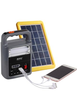 Đèn LED khẩn cấp  Đa năng năng lượng mặt trời cắm trại lều đèn led sạc ngựa khẩn cấp nhà ngoài trời
