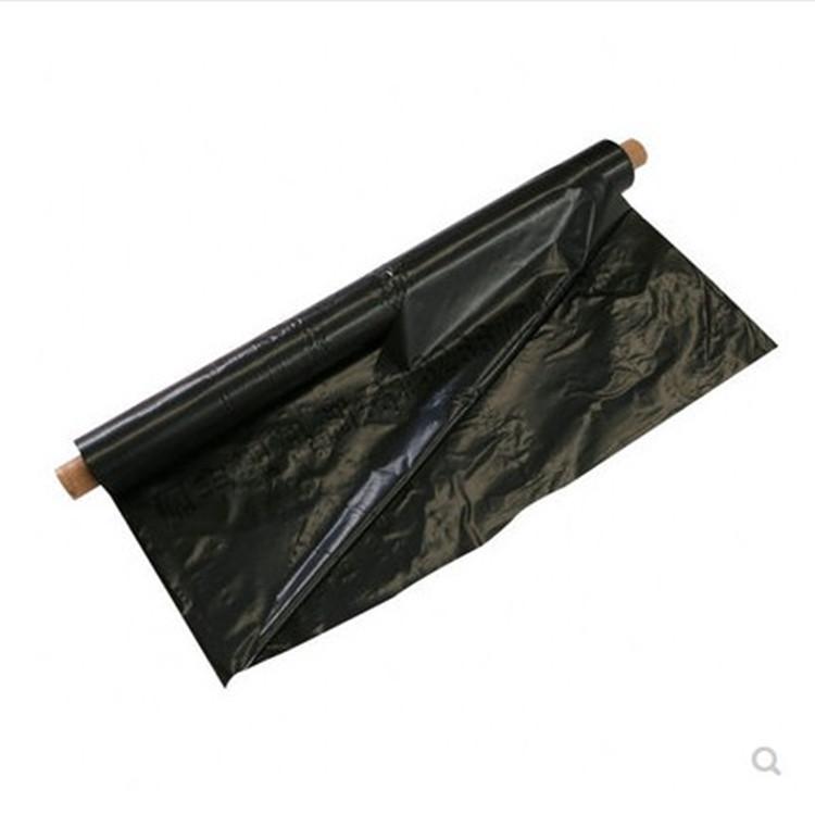 Màng che phủ nhà kính Bán buôn màng nhựa đen trọng lượng 4 kg / cuộn cỏ làm phim cách nhiệt nông ngh
