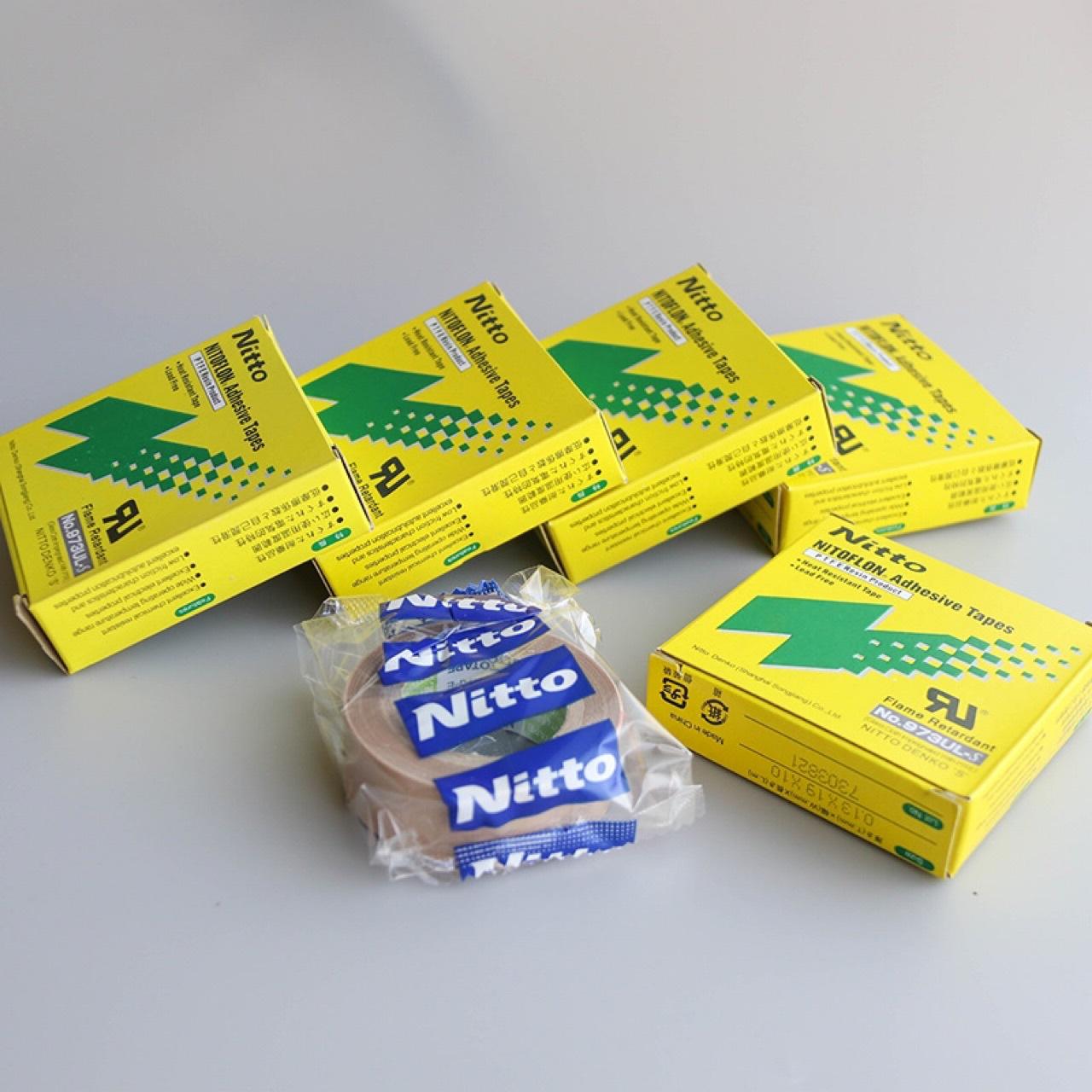 Nitto Keo dán tổng hợp 973ul-s thương hiệu băng Teflon T nhiệt độ cao chịu nhiệt băng niêm phong máy