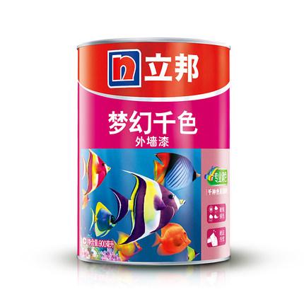 Nippon Sơn Nippon Dream Nghìn màu Sơn ngoại thất Sơn tường Sơn màu Miễn phí Toning 0.9L