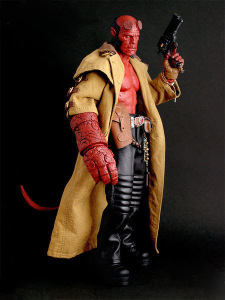 Animation toys wholesale Hellboy HT hell Baron joint movable box decoration