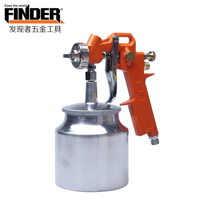 FINDER Dụng cụ bằng hơi Khám phá công cụ hướng dẫn sử dụng có thể tháo rời phun sơn khí nén xuyên bi