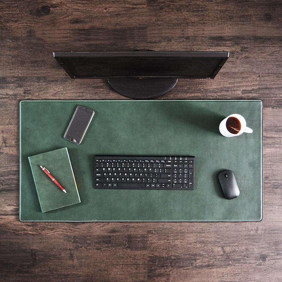 Lớp đệm bàn tay máy tính da da da da da da dày phần lớn trên bàn làm việc của con chuột có thể được