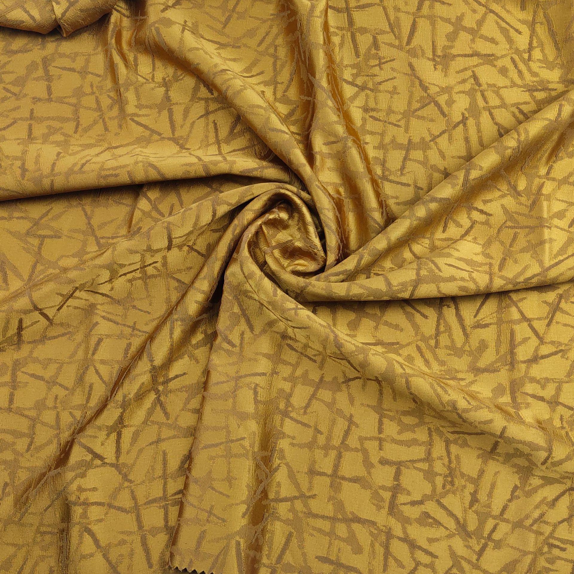 Vải Yarn dyed / Vải thun có hoa văn Nhà máy trực tiếp mô phỏng lụa độ chính xác cao sợi nhuộm vải rè