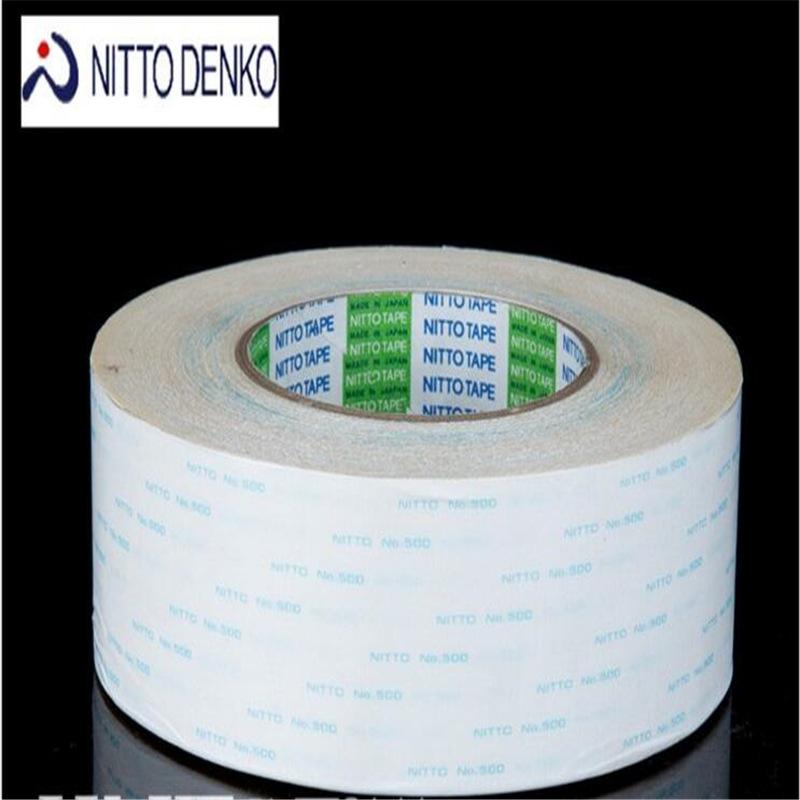 Nitto Keo dán tổng hợp Keo dán hai mặt Nitto 500 chính hãng NITTO500 keo dán hai mặt không dệt chịu