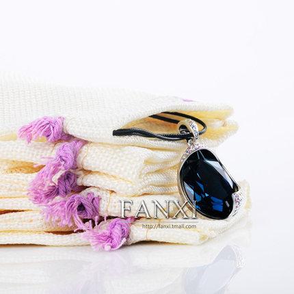 Fanxi Túi đựng trang sức FANXI túi đồ trang sức vải túi đồ trang sức túi nhỏ túi vải dây rút dây rút
