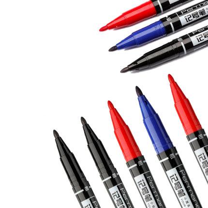Deli  Bút dạ quang  Hiệu quả bút lông nhỏ hai đầu hiệu quả Bút nhỏ đầu mỏng bút đánh dấu bút móc dây