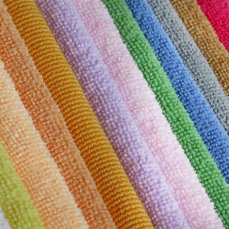 Vải khăn lông Terry vải bán buôn dệt vải polyester terry vải trắng terry vải từ chứng khoán