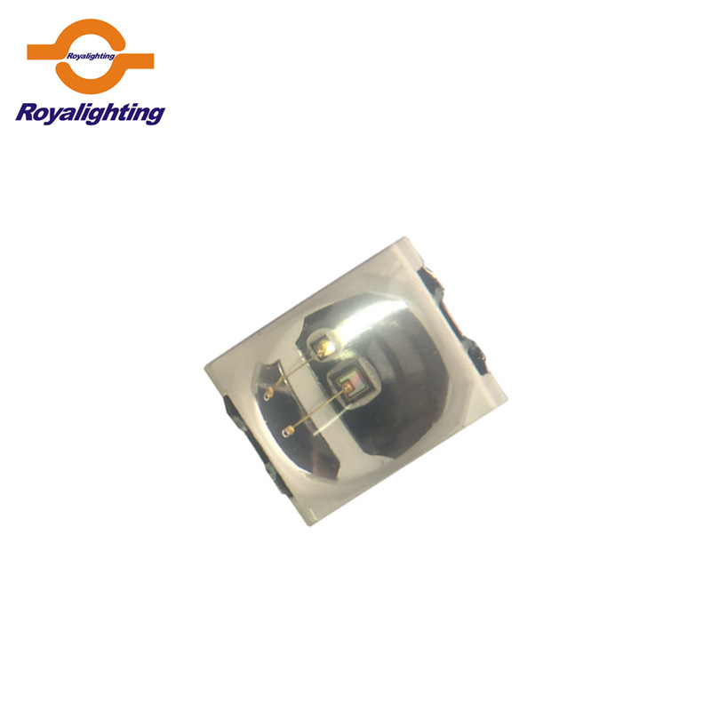 Royalighting LED dán Đèn LED UV UV Nguồn sáng UVA LED 2835 SMD 365NM 375NM 0,5W ống kính lồi LED