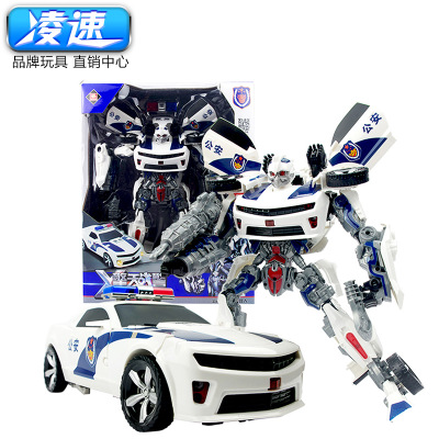 JINJIANG Đồ chơi biến hình Transformers Ling Speed-Children Puzzle Optimus Hornets Transformed King