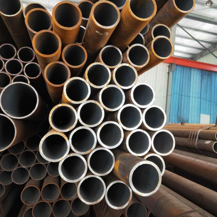 Cán nguội Nhà máy bán hàng trực tiếp Baosteel ống thép liền mạch 159 * 4.5 điều hòa không khí cung c