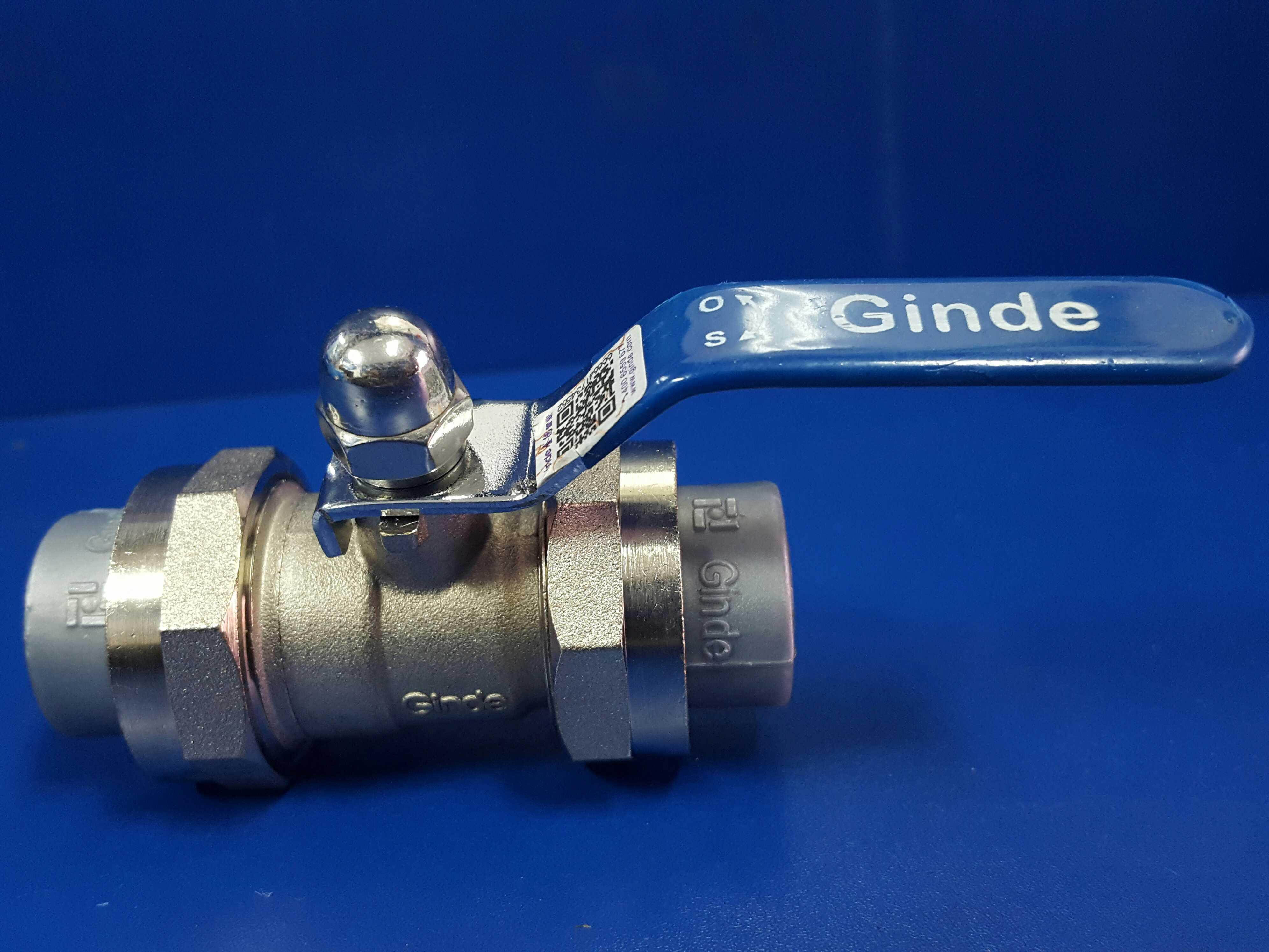 Ginde Ống nhựa Phụ kiện đường ống Jinde phụ kiện đường ống ppr chính hãng nóng chảy đôi kết nối trực